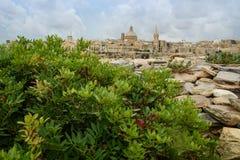 Valletta, Hauptstadt von Malta Stockfotos