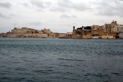 Valletta historic harbour. A view of the historic port of la valletta on malta island Stock Photo