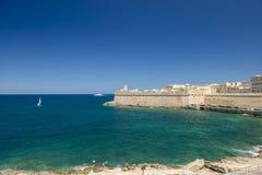 Valletta - Hoofdstad van Malta Royalty-vrije Stock Afbeelding
