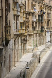 Valletta on the island of Malta stock images
