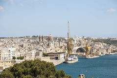 Valletta, kapitał Malta zdjęcia stock