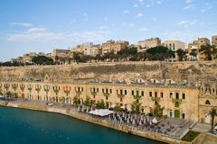 Valletta, Malta. A photo of the harbor area of the city of Valletta on the island of Malta Royalty Free Stock Image