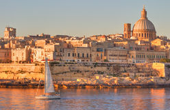 Valletta, Malta. Valletta, the Capital City of Malta in early morning Stock Image