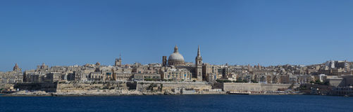 Valletta, Malta. The capital city Valletta, Malta Royalty Free Stock Image