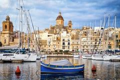 Valletta - malta Imagens de Stock