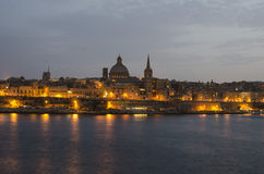 Valletta Malta Arkivfoto