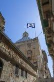 VALLETTA -MALTA - APRIL 13, 2016: Traditional Maltese architect Stock Image