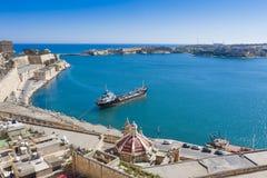 VALLETTA -MALTA - APRIL 13, 2016: Traditional Maltese architect Stock Photos