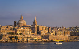 Valletta, Malta - The beautiful St.Paul`s Cathedral Royalty Free Stock Photography