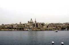 Valletta , Malta. Valletta capital of the  island of Malta Stock Photography