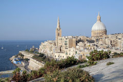 Valletta, Malta. A cityscape of Valletta, the capital of Malta Royalty Free Stock Photography