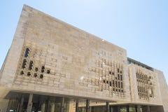 Valletta, Malta Das Parlamentsgebäude Lizenzfreie Stockfotografie