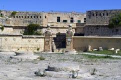 Valletta,Malta. Fortress and walls in Valletta,Malta Royalty Free Stock Photos