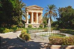 Valletta, Malta. Valletta, garden in the capital city of Malta royalty free stock photos