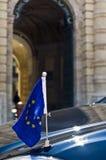 Valletta, Malta – Juli 11: Herman Van Rompuy bezoekt Malta Stock Afbeeldingen