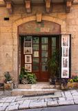 Retro art studio Valletta stock photo