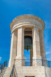 Valletta, Malta - May 9, 2017: The Siege Bell War Memorial designed by Michael Sandle and erected in 1992. Stock Images