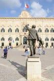 Auberge de Castille. The Prime Minister office. Valletta, Malta. Stock Images