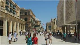 Valletta, Malta The Parliament House. stock video footage