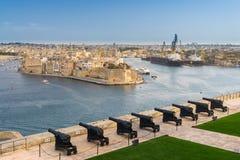Valletta Malta Stock Photo