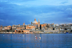 Valletta, Malta. View of Valletta, Malta, Europe Royalty Free Stock Image