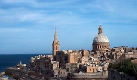 Valletta, Malte. images libres de droits
