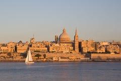 Valletta, Malte images libres de droits