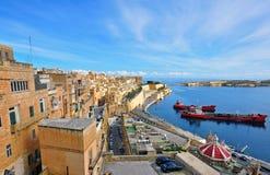 Valletta, Malte Photo libre de droits