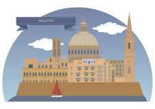 Valletta, Malte Photos libres de droits