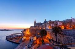 Valletta. Mediterranean harbor. Royalty Free Stock Photos