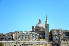 Valletta miasta budynki, Malta Obraz Royalty Free