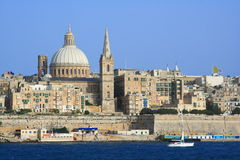 Valletta old town, Malta Royalty Free Stock Photo
