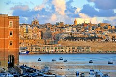 Valletta old town, Malta Stock Photo