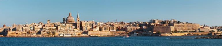 Valletta panorama, Malta, EU Royalty Free Stock Photo