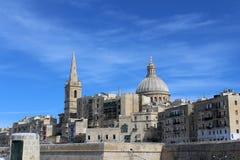 Valletta, Panoramablick, Hauptstadt, Republik Malta Stockfoto