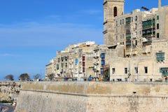 Valletta, Panoramablick, Hauptstadt, Republik Malta Stockbild