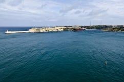 Valletta schronienie, Malta Obrazy Royalty Free