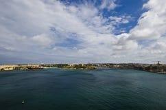 Valletta schronienie, Malta obrazy stock