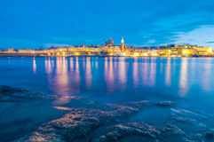 Valletta seafront skyline view, Malta Royalty Free Stock Image