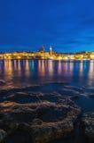 Valletta seafront skyline view, Malta Royalty Free Stock Photos