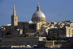 Valletta skyline Stock Images