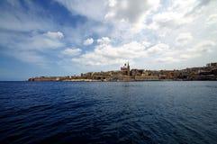 Valletta Skyline Royalty Free Stock Photos