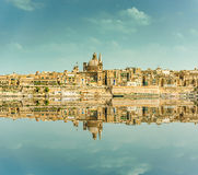 Valletta Skyline Royalty Free Stock Photo