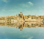 Valletta Skyline Royalty Free Stock Photo
