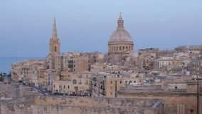Valletta stock footage
