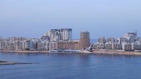 Valletta stock footage