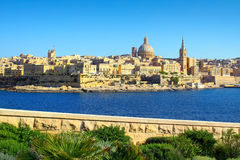 Valletta Skyline , Malta Royalty Free Stock Photography
