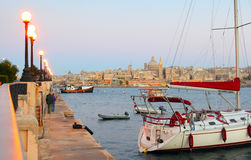 Valletta Skyline , Malta Stock Photography
