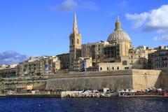 Valletta skyline, Malta Stock Image