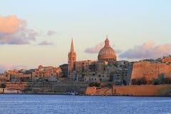 Valletta skyline, Malta Stock Photos